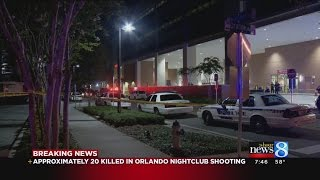 Police: Approximately 20 dead, at least 42 wounded in Orlando night club shooting