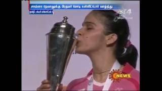 Saina Nehwal Bags Second Australian Open Title
