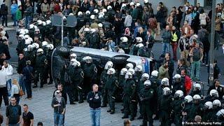 SHOCKING: German hooligans attack Ukraine fans in Lille UEFA Euro 2016