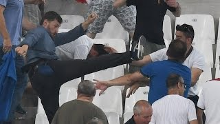Euro 2016 Russia Faces Uefa Probe After England Match Violence