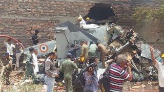 MIG-27 crashes in Jodhpur