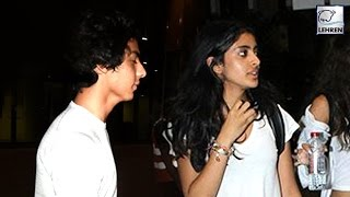 Shahrukh's Son & Big B's Granddaughter REFUSED To Pose For Media