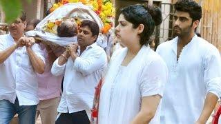 Arjun Kapoor's Grandmother Funeral Video - Anil, Kapoor, Karan Johar, Tanvi Azmi