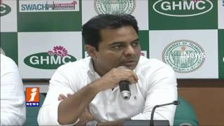 GHMC To Conduct Workshop For Better Development Of Hyderabad Roads | KTR | iNews