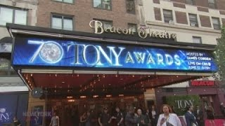 The stars come out for 2016 Tony Awards