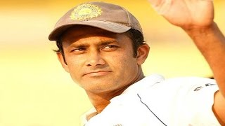 Anil Kumble throws hat in the ring for Team India Coach's job