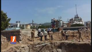 Three Suspicious Dead Bodies Found in Water Tank Near Tirupati Railway Station - iNews