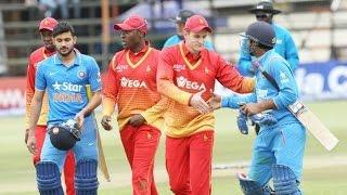 India vs Zimbabwe 2nd ODI 2016 - India Won By 8 Wickets