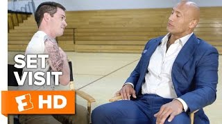 Central Intelligence Exclusive Set Visit (2016) - Dwayne Johnson, Kevin Hart