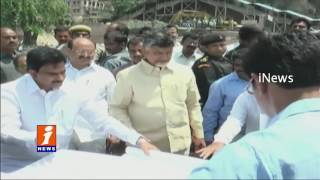 CM Chandrababu Visits AP Temporary Secretariat Construction Site In Velagapudi | iNews