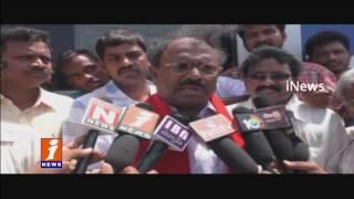 Agri Gold Case | Victims Strike At Nagarjuna University In Guntur | iNews