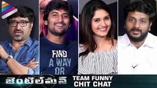 Nani Gentleman Movie Team Funny Chit Chat | Nani | Surabhi | Nivetha | #Gentleman