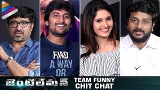 Nani Gentleman Movie Team Funny Chit Chat | Nani | Surabhi | Nivetha | #Gentleman