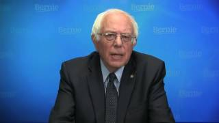 Sanders Vows to Work With Clinton for Party