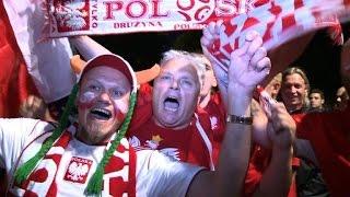 Euro 2016: Fans celebrate 'fair-play' Germany-Poland draw