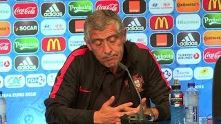 Portugal coach condemns Iceland heckling of Pepe and Ronaldo