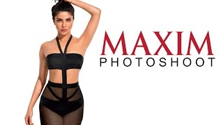 Priyanka Chopra Hot Maxim Photoshoot Cover 2016