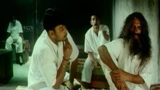 Challenging star Darshan comedy scene in Jail | Anatharu Movie | Kannada comedy | Upendra,Radhika