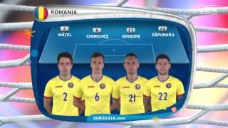 Romania line-up v Albania: UEFA EURO 2016
