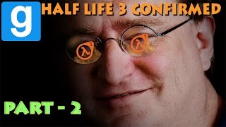Half-Life 3 Confirmed!!! - Horror In Resort (Part 2) - Garry's Mod Horror Map