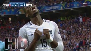 Switzerland vs France 0-0 Full EURO 2016 19/06/2016