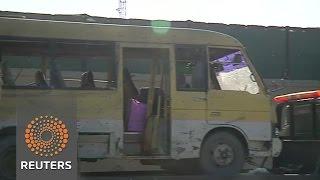 Bomber targets Kabul minibus