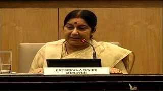 I maintain 39 Indians abducted in Iraq are alive, we will rescue: Sushma Swaraj
