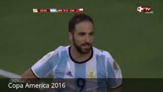 Copa America 2016 Argentina - Chile 2 - 1