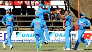 India vs Zimbabwe: Barinder Sran takes 4 Wickets in debut T20 Match