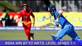 India vs Zimbabwe 2nd T20 Full Match - India register thumping win over Zimbabwe