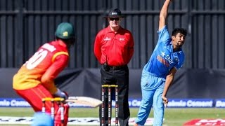 Jasprit Bumrah take 3 Wickets Vs Zimbabwe 2nd T20 2016
