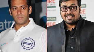 Salman Khan's Rape Comment Was Thoughtless Says Anurag Kashyap