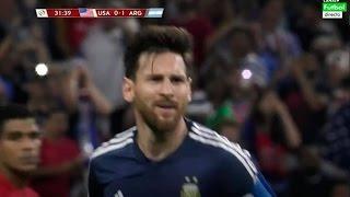 Lionel Messi Gol Golazo - USA vs Argentina 0-4 Copa America 2016 Centenario