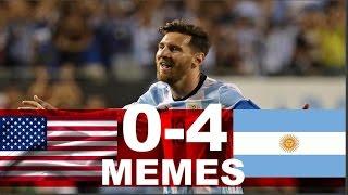 ESTADOS UNIDOS VS ARGENTINA 0-4 SEMIFINAL COPA AMERICA 2016 LOS MEJORES MEMES