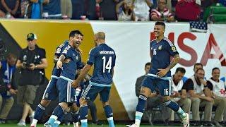 Argentina vs Estados Unidos 4-0 RESUMEN GOLES Copa America Centenario 2016