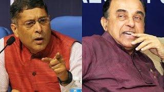 Sack Arvind Subramanian Says Subramanian Swamy