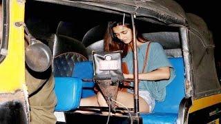 Tiger Shroff's girlfriend Disha Patani's rickshaw ride after DINNER DATE