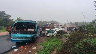 Bus rams into van in Karnataka, over 8 school children dead