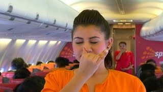SpiceJet holds yoga sessions at 35000 feet above earth