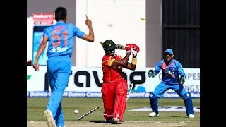 India Vs Zimbabwe 3rd T20 2016 - India Won By 3 Runs