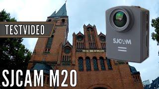 SJCAM M20: Verzerrungskorrektur - Testvideo (1080p @ 30fps)