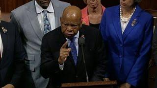 Rep. John Lewis Leads Sit-In on House Floor
