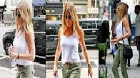 Nipple Slip: Jennifer Aniston Wears Figure Hugging Tank After Denying Pregnancy