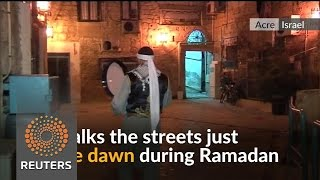 Christian drummer tries to keep Ramadan tradition beating
