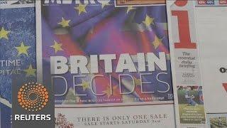 Markets buoyed as Britain votes
