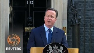 Cameron to quit after Brexit vote