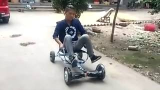 New awesome gadgets- hoverboard seat!!!