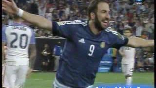 Argentina 4 Estados Unidos 0 (El Derribador-Bolivia)  Copa America Centenario 2016