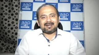 Delhi Convenor Dilip Pandey Briefs on Delhi LG spying on ministers of Delhi government