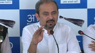 Aap Press Brief on the issue of NDMC Officer MM Khan